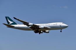 sonnyさんが、成田国際空港で撮影したキャセイパシフィック航空 747-467F/ER/SCDの航空フォト(写真)