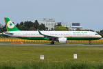 Tomo-Papaさんが、成田国際空港で撮影したエバー航空 A321-211の航空フォト(写真)