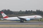 小牛田薫さんが、成田国際空港で撮影したオーストリア航空 777-2Z9/ERの航空フォト(写真)