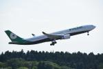 よしポンさんが、成田国際空港で撮影したエバー航空 A330-302の航空フォト(写真)