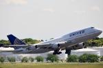 y-dynastyさんが、成田国際空港で撮影したユナイテッド航空 747-422の航空フォト(写真)