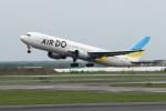 オポッサムさんが、新千歳空港で撮影したAIR DO 767-33A/ERの航空フォト(写真)