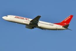 あしゅーさんが、福岡空港で撮影したイースター航空 737-883の航空フォト(写真)