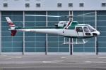 はるかのパパさんが、東京ヘリポートで撮影したアカギヘリコプター AS350B Ecureuilの航空フォト(写真)