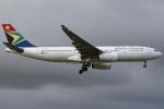 KAW-YGさんが、ロンドン・ヒースロー空港で撮影した南アフリカ航空 A330-243の航空フォト(写真)