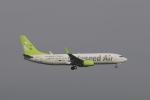 しかばねさんが、羽田空港で撮影したソラシド エア 737-81Dの航空フォト(写真)