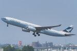 tabi0329さんが、福岡空港で撮影したキャセイパシフィック航空 A330-343Xの航空フォト(写真)