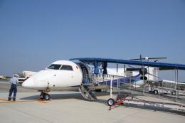 さとさとさんが、熊本空港で撮影したANAウイングス DHC-8-402Q Dash 8の航空フォト(写真)