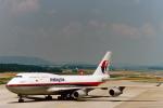 菊池 正人さんが、チューリッヒ空港で撮影したマレーシア航空 747-4H6の航空フォト(写真)