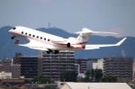 なごやんさんが、名古屋飛行場で撮影したToyota Motor Corporation Gulfstream G650ER (G-VI)の航空フォト(写真)