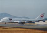 よしポンさんが、伊丹空港で撮影した日本航空 747-146B/SRの航空フォト(写真)