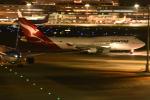 おかめさんが、羽田空港で撮影したカンタス航空 747-48Eの航空フォト(写真)