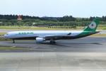 Espace77さんが、成田国際空港で撮影したエバー航空 A330-302の航空フォト(写真)
