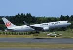 Espace77さんが、成田国際空港で撮影した日本航空 767-346/ERの航空フォト(写真)