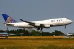 on-chanさんが、成田国際空港で撮影したユナイテッド航空 747-422の航空フォト(写真)