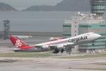だいすけさんが、香港国際空港で撮影したカーゴルクス 747-8R7F/SCDの航空フォト(写真)