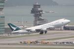 だいすけさんが、香港国際空港で撮影したキャセイパシフィック航空 747-467F/ER/SCDの航空フォト(写真)
