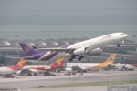 だいすけさんが、香港国際空港で撮影したタイ国際航空 A330-343Xの航空フォト(写真)