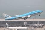 だいすけさんが、香港国際空港で撮影したKLMオランダ航空 747-406Mの航空フォト(写真)
