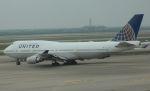 Rsaさんが、上海浦東国際空港で撮影したユナイテッド航空 747-422の航空フォト(写真)