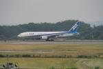 撮り撮り人さんが、岡山空港で撮影した全日空 777-281の航空フォト(写真)