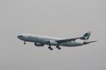 MA~RUさんが、成田国際空港で撮影したキャセイパシフィック航空 A330-342Xの航空フォト(写真)