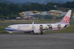 神宮寺ももさんが、高松空港で撮影したチャイナエアライン 737-8FHの航空フォト(写真)