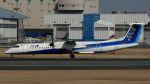 航空見聞録さんが、伊丹空港で撮影したエアーニッポンネットワーク DHC-8-402Q Dash 8の航空フォト(写真)