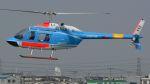 航空見聞録さんが、八尾空港で撮影した中日本航空 206B JetRanger IIの航空フォト(写真)