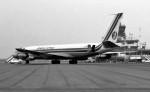 ハミングバードさんが、名古屋飛行場で撮影したブリタニア・エアウェイズ 707-355Cの航空フォト(写真)