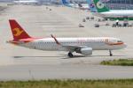きんめいさんが、関西国際空港で撮影した天津航空 A320-214の航空フォト(写真)
