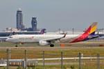 YASKYさんが、成田国際空港で撮影したアシアナ航空 A321-231の航空フォト(写真)