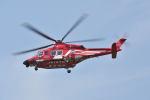 パンサーRP21さんが、東京ヘリポートで撮影した東京消防庁航空隊 AW139の航空フォト(写真)