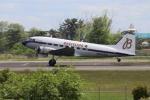 MuniLさんが、仙台空港で撮影したスーパーコンステレーション飛行協会 DC-3Aの航空フォト(写真)