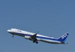 くーぺいさんが、新千歳空港で撮影した全日空 A321-211の航空フォト(写真)