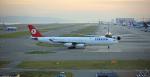mikuさんが、関西国際空港で撮影したターキッシュ・エアラインズ A340-313Xの航空フォト(写真)