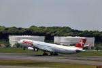 JA946さんが、成田国際空港で撮影したスイスインターナショナルエアラインズ A340-313Xの航空フォト(写真)