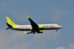 HS888さんが、鹿児島空港で撮影したソラシド エア 737-81Dの航空フォト(写真)