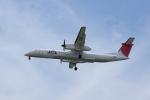 かずまっくすさんが、福岡空港で撮影した日本エアコミューター DHC-8-402Q Dash 8の航空フォト(写真)