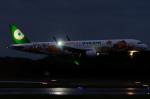 ぎんじろーさんが、成田国際空港で撮影したエバー航空 A321-211の航空フォト(写真)