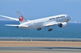 amagoさんが、中部国際空港で撮影した日本航空 787-8 Dreamlinerの航空フォト(写真)