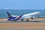 amagoさんが、中部国際空港で撮影したタイ国際航空 777-3D7の航空フォト(写真)