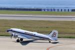 いっくんさんが、神戸空港で撮影したスーパーコンステレーション飛行協会 DC-3Aの航空フォト(写真)
