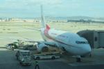 しかばねさんが、バルセロナ空港で撮影したアルジェリア航空 737-6D6の航空フォト(写真)