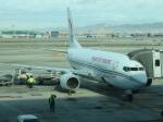 しかばねさんが、バルセロナ空港で撮影したロイヤル・エア・モロッコ 737-7B6の航空フォト(写真)
