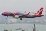 たみぃさんが、香港国際空港で撮影したエアアジア A320-251Nの航空フォト(写真)