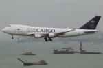 たみぃさんが、香港国際空港で撮影したサウディア 747-412F/SCDの航空フォト(写真)
