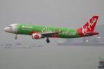 たみぃさんが、香港国際空港で撮影したエアアジア A320-216の航空フォト(写真)