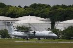 ☆ライダーさんが、成田国際空港で撮影した国土交通省 航空局 DHC-8-315Q Dash 8の航空フォト(写真)