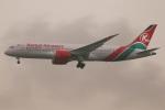 たみぃさんが、香港国際空港で撮影したケニア航空 787-8 Dreamlinerの航空フォト(写真)